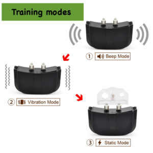 Battery Dog Training Collar - 1 Remote 1 Collar - Up To 300m Range