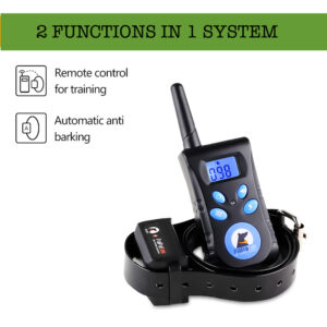 Dog Training - Anti Bark Collar - 1 Remote 2 Collars - Automatic