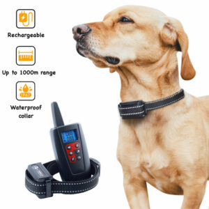 Dog Training Collar - 1 Remote 3 Collars - Up To 1000m