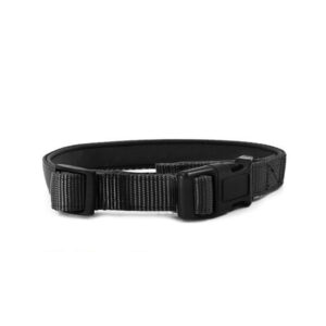 Nylon Dog Collar Black - Replacement Strap For Barking Collar