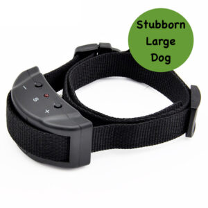 Automatic Anti Bark Shock Collar - Stubborn Large Dogs - Battery Operated